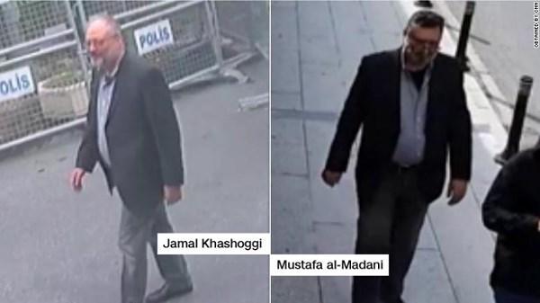 Nhà báo Khashoggi và người được cho là thế thân của ông