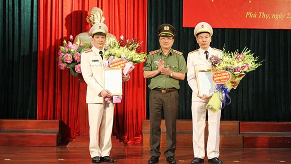 Bổ nhiệm Giám đốc Công an tỉnh Phú Thọ