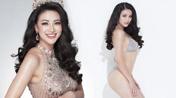 Đại diện VN tại Hoa hậu Trái đất quấn eo từ năm 16 tuổi để có vòng 2 con kiến