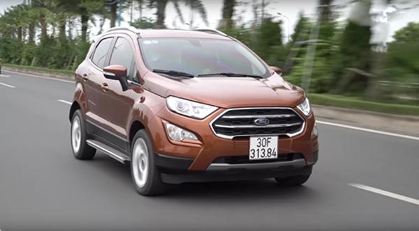 Ford EcoSport 2018 - Mẫu xe đáng đồng tiền bát gạo