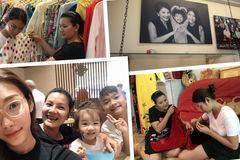 Mẹ con Kiều Trinh - Thanh Tú ở nhà 24m2, tiền thuê 15 triệu/tháng