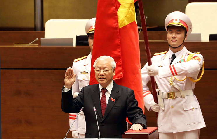 Lãnh đạo Trung Quốc, Lào, Cuba, Nga gửi điện mừng tân Chủ tịch nước