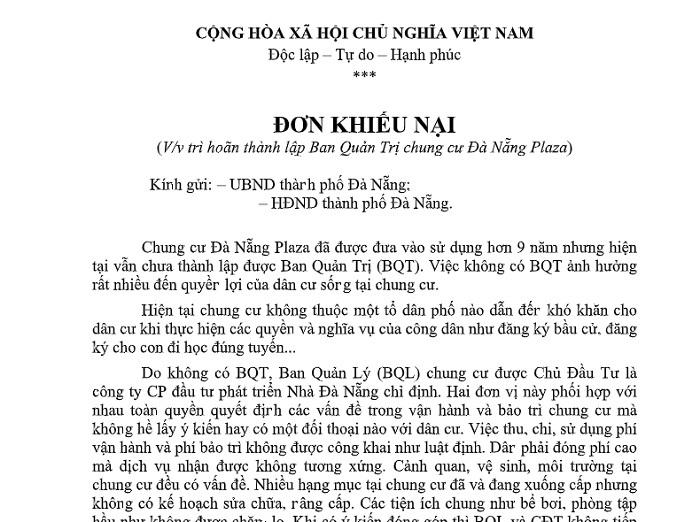 Hơn 170 hộ dân sống cảnh '3 không' trong chung cư trung tâm Đà Nẵng