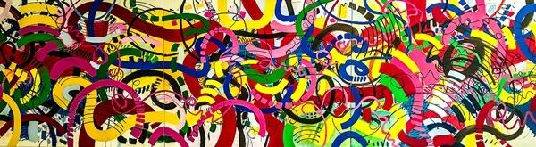 Cảm nhận âm thanh qua triển lãm tranh 'vẽ âm nhạc'
