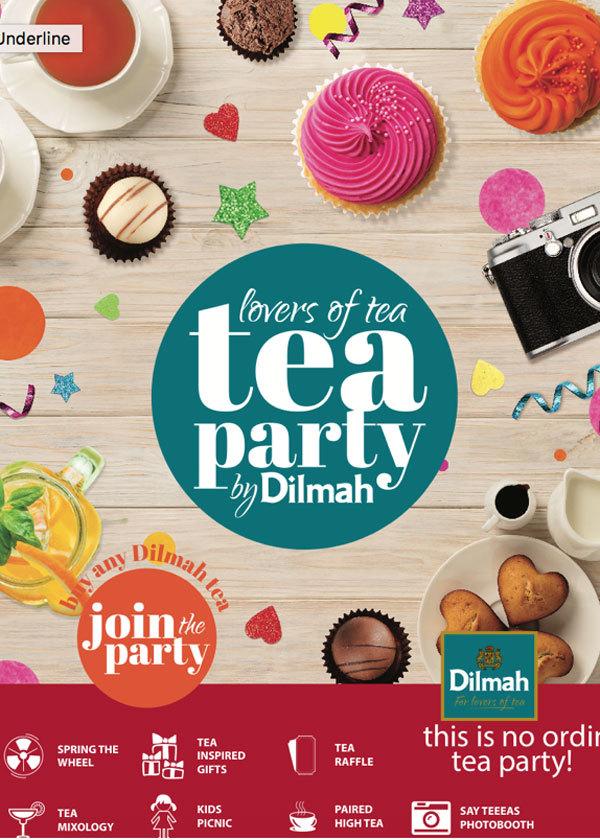 Tiệc trà Dilmah cho người sành điệu