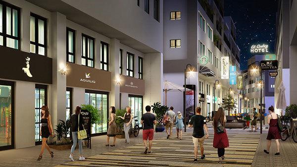 Tổ hợp shophouse -mini hotel Tuần Châu Marina: tiềm năng sinh lời