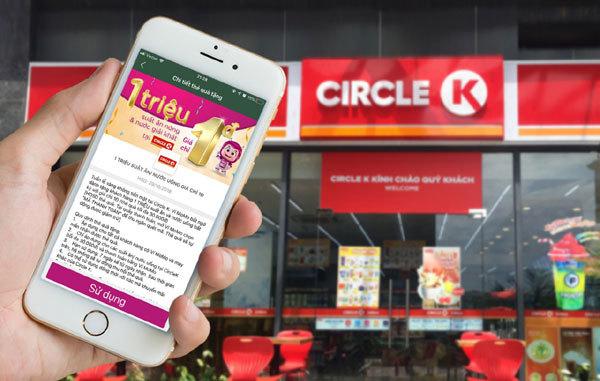 Ví MoMo tặng 1 triệu suất ăn 1 đồng tại Circle K