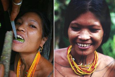 """Những phong tục làm đẹp """"rợn người"""" của phụ nữ trên thế giới"""