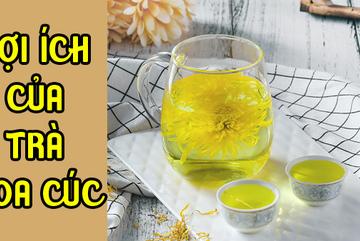Lý do khiến bạn nhất định phải uống một ly trà hoa cúc vào ngày lạnh