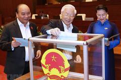 Quốc hội lấy xong phiếu tín nhiệm 48 chức danh