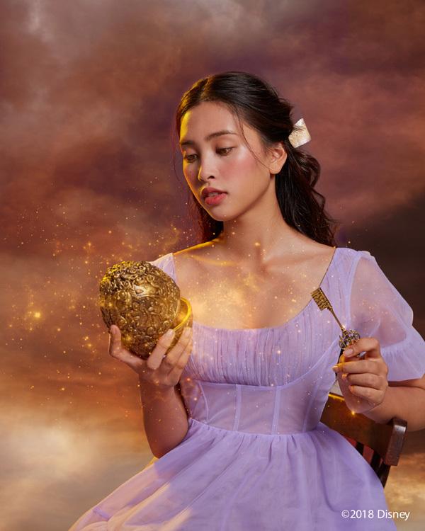Hoa hậu Tiểu Vy hóa công chúa trong bom tấn mới của Disney