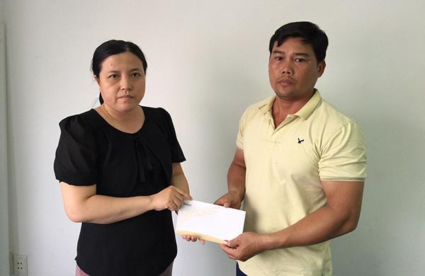Bé Dương Thanh Duy được ủng hộ 19.200.000 đồng