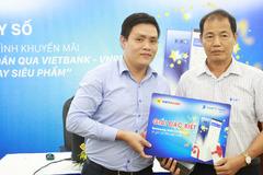 Thanh toán Vietbank- VNPT Pay, nhiều khách hàng trúng siêu phẩm