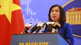 VN thông tin việc ASEAN, Trung Quốc tập trận ở Biển Đông