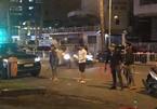 Nhóm giang hồ cầm hung khí bắt người ở trung tâm Sài Gòn