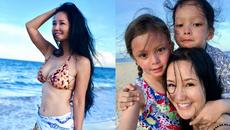 Diva Hồng Nhung diện bikini, khoe nhan sắc không tuổi