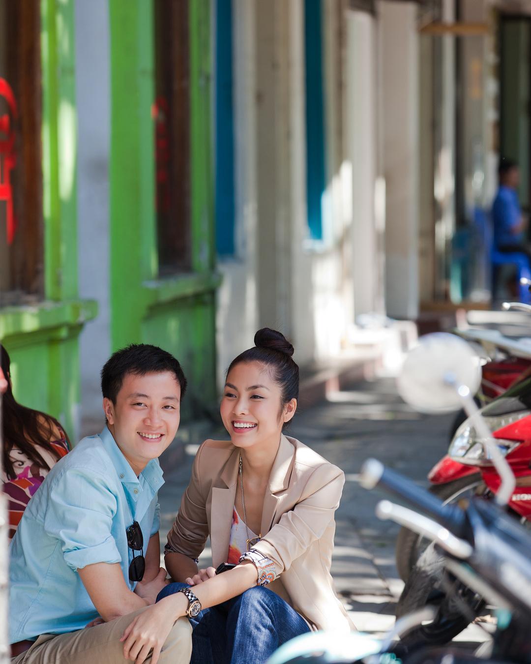 Lương Mạnh Hải - Tăng Thanh Hà ôn lại thanh xuân với loạt ảnh xưa