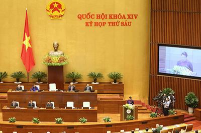 Trực tiếp phiên chất vấn của Quốc hội