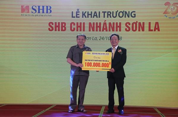 SHB khai trương chi nhánh ở Sơn La