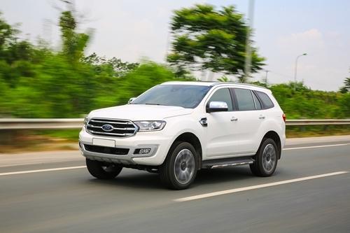 Ford Everest 2018 trong triển lãm MS 2018 có gì mới?
