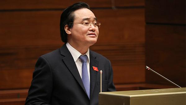 Bộ trưởng,Phùng Xuân Nhạ,kỳ thi tốt nghiệp phổ thông,đổi mới kỳ thi,sách giáo khoa