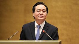 Bộ trưởng Phùng Xuân Nhạ: Cá nhân tôi kiên quyết chống tiêu cực thi cử