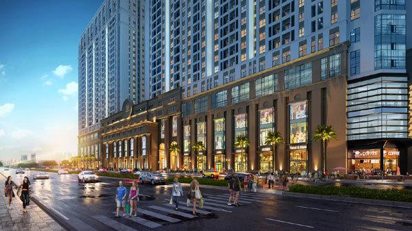 Trung tâm thương mại - điểm nhấn của Roman Plaza