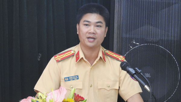 Công an Hà Nội có tân Trưởng phòng CSGT