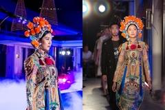 Thuý Vân làm vedette trong trang phục lấy cảm hứng từ tuồng cổ