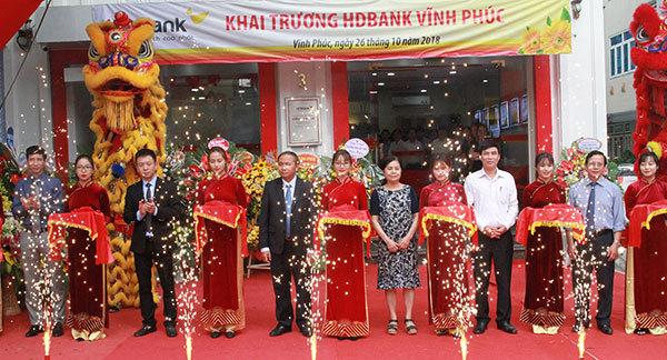 Khai trương HDBank chi nhánh Vĩnh Phúc