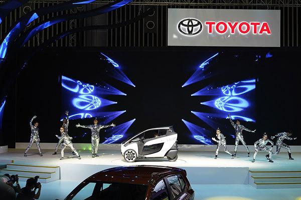 Toyota mang 'Chất lượng chuyển động tạo nụ cười' đến VMS 2018