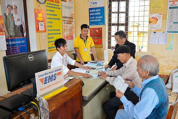 tiết kiệm bưu điện