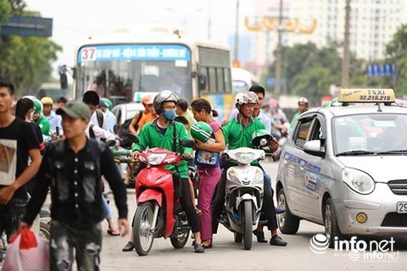 Taxi,Grab,ứng dụng gọi xe,Xe ôm,Cách mạng 4.0