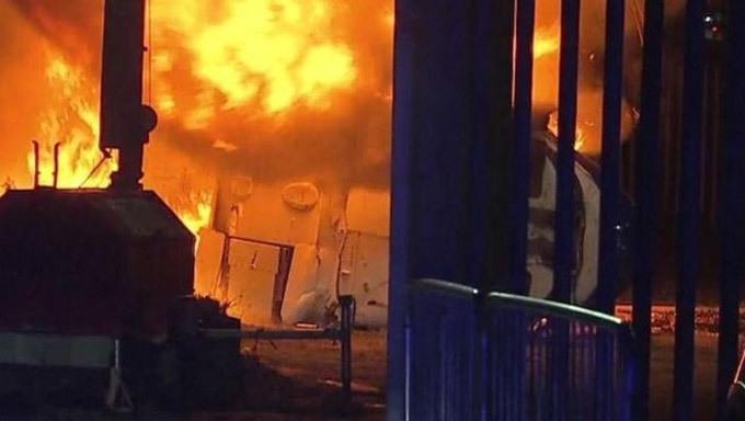Trực thăng của ông chủ Leicester City gặp nạn thảm khốc