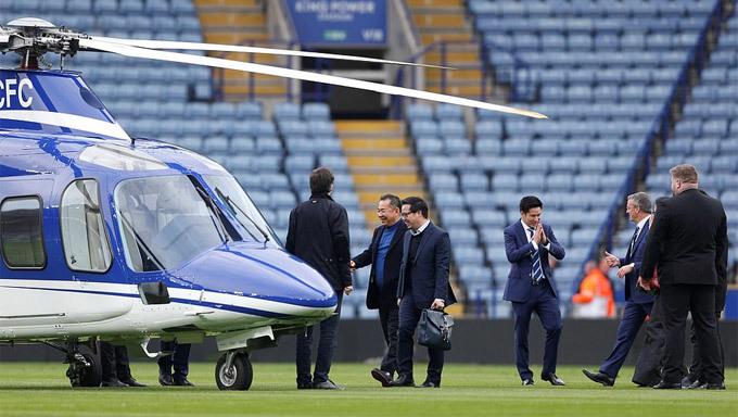 Chân dung tỉ phú có trực thăng nổ tung bên ngoài sân nhà Leicester City - ảnh 6