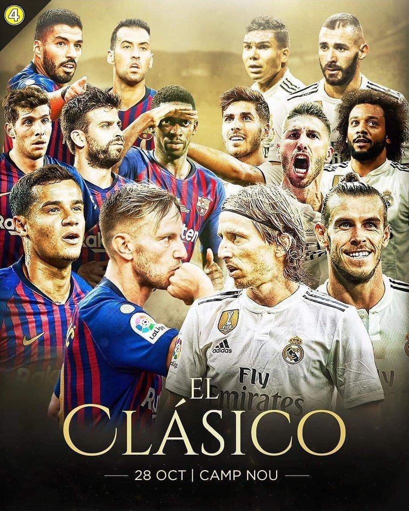 Barca vs Real Madrid: Siêu Kinh Điển vắng bóng Si-Ro