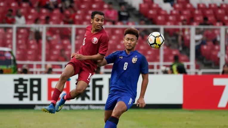 Rượt đuổi nghẹt thở với Qatar, U19 Thái Lan hụt vé World Cup
