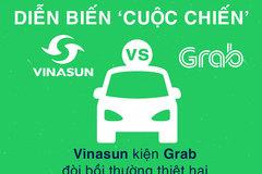 Diễn biến 'đại chiến' giữa Vinasun - Grab