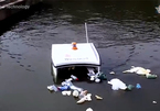 Cỗ máy 'cá mập' không người lái gom rác thải trên sông, hồ siêu nhanh