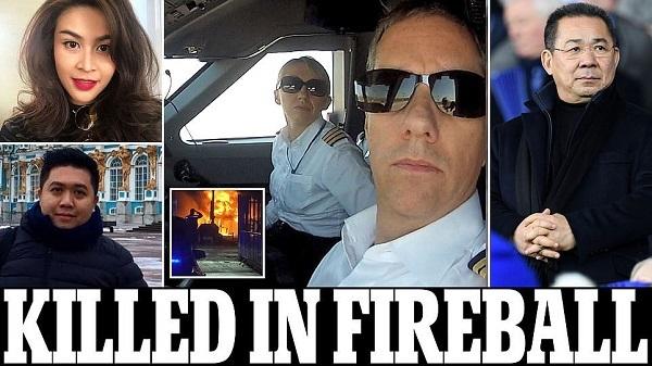Những ai tử nạn cùng ông chủ Leicester City?