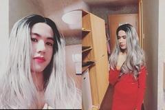 Sự thật về 'cô gái' xinh đẹp có mái tóc bạch kim trong tiệc Halloween