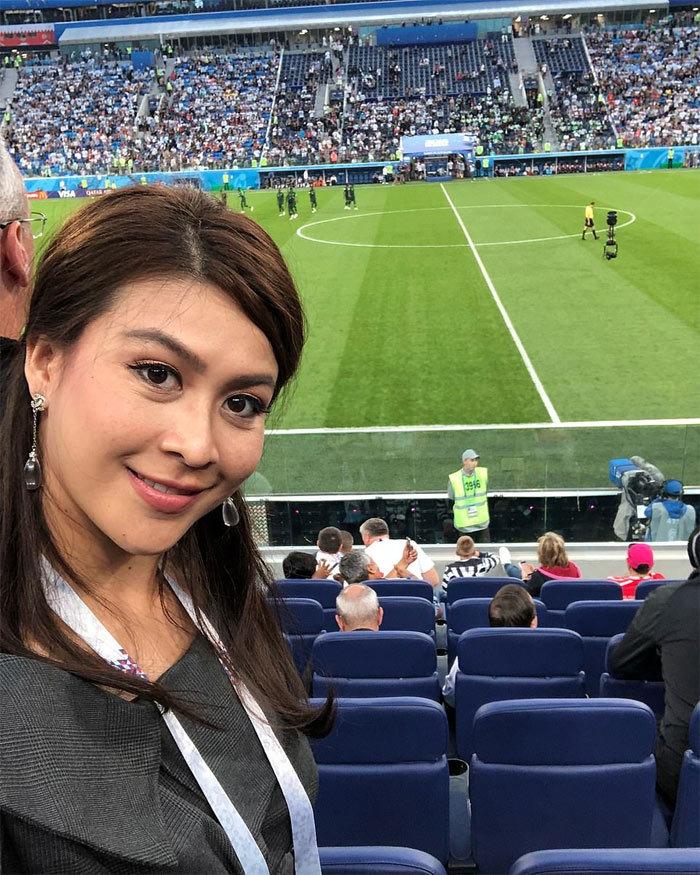 Chân dung 'Nữ hoàng sắc đẹp' tử nạn cùng ông chủ Leicester City