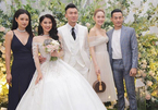 Minh Hằng rạng rỡ dự đám cưới diễn viên Xuân Phúc