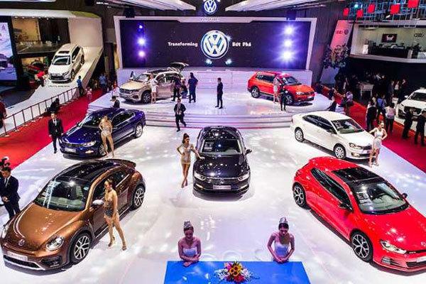 Thế giới của Volkswagen tại Triển lãm ô tô Việt Nam 2018