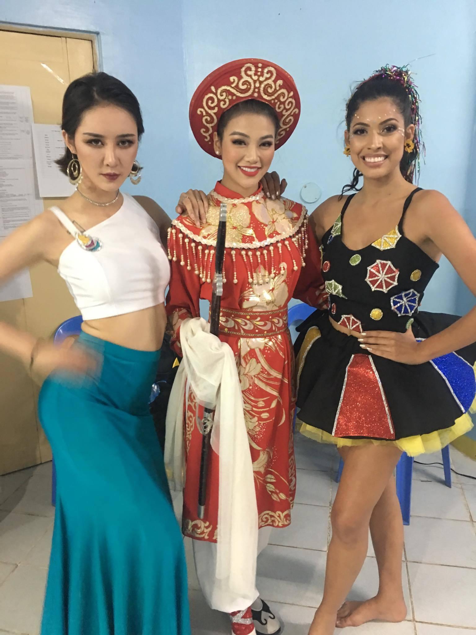 Người đẹp Việt Nam bị rách trán tại Hoa hậu Trái đất