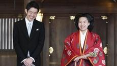 Công chúa Nhật rạng ngời trong lễ cưới với chú rể thường dân