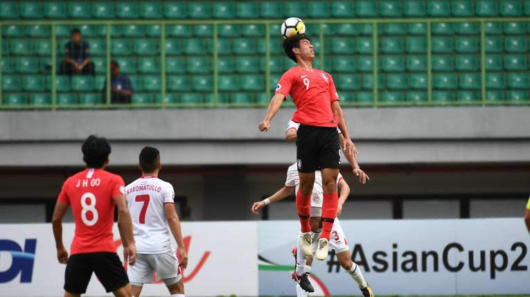 U19 Hàn Quốc tranh vé chung kết châu lục với U19 Qatar