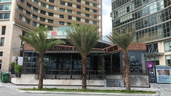 Đà Nẵng xử phạt khu phức hợp khách sạn đồ sộ ven sông Hàn0