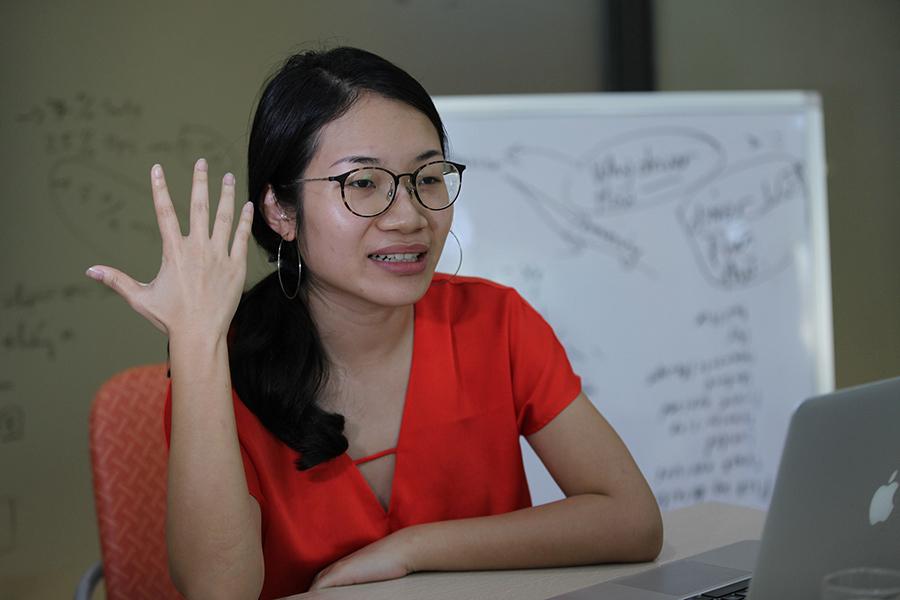 Cô gái đình đám với 'start-up' 2 triệu USD