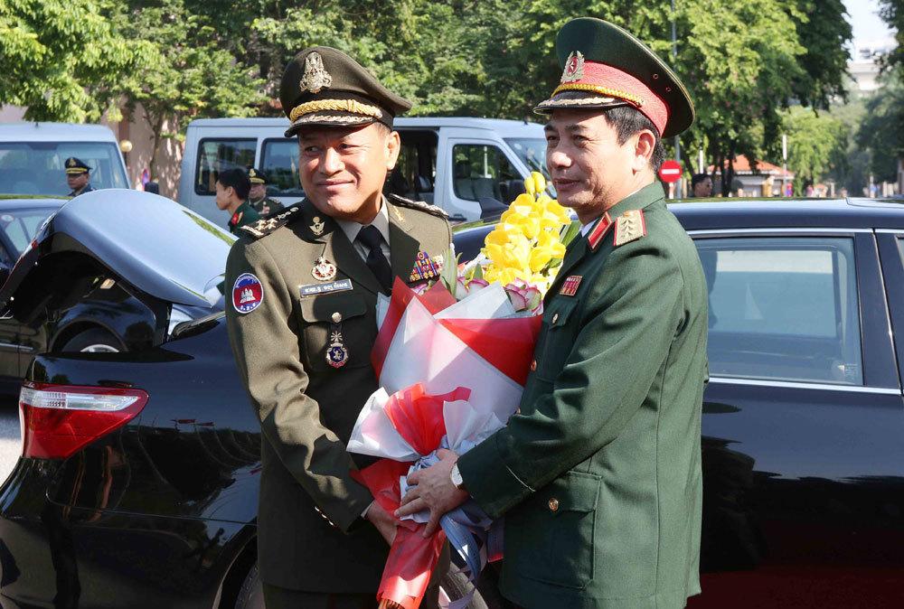 Việt Nam-Campuchia,Campuchia,Bộ Quốc phòng